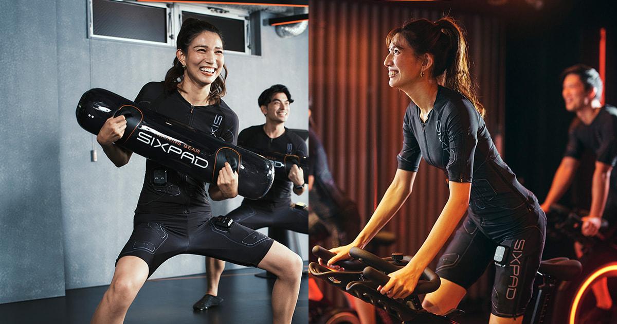 近未来型EMSトレーニング・ジム【SIXPAD STATION】